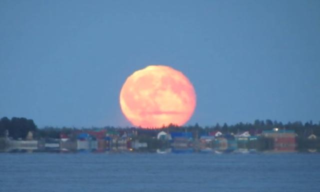 В Москве можно будет увидеть «кровавую Луну»
