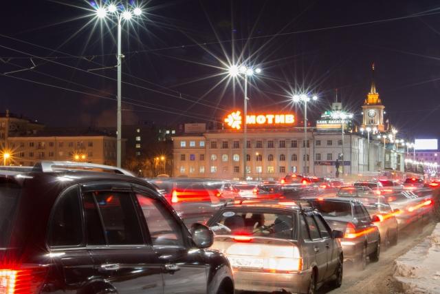 Пробки. Екатеринбург.