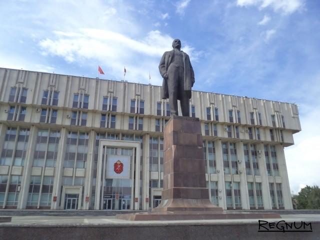 Памятник Ленину в Туле
