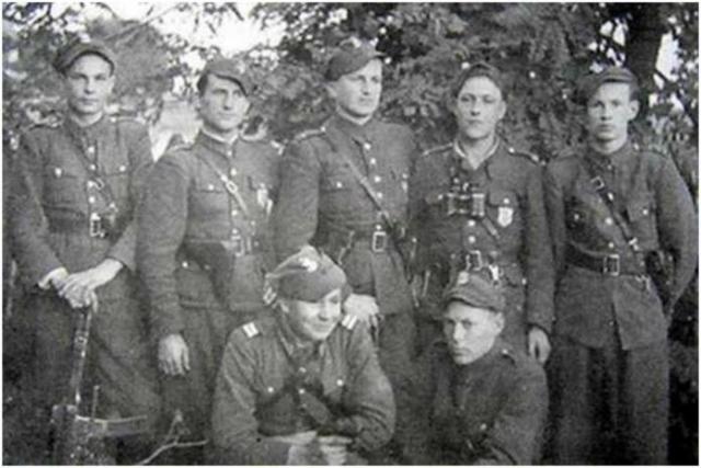 Бойцы польской Армии Крайовы