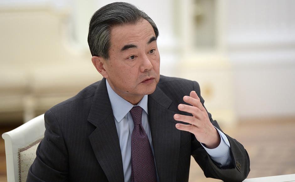 Министр иностранных дел Китайской Народной Республики Ван И