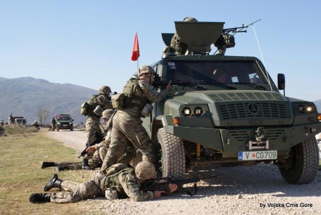 Военные Черногории