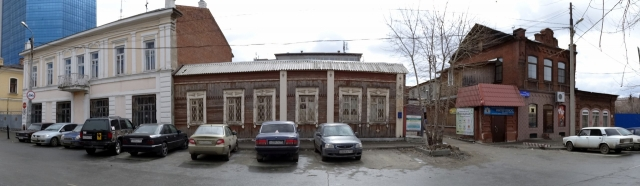 Усадьба А.Н. Назаровой. ул. Карла Маркса. Челябинск