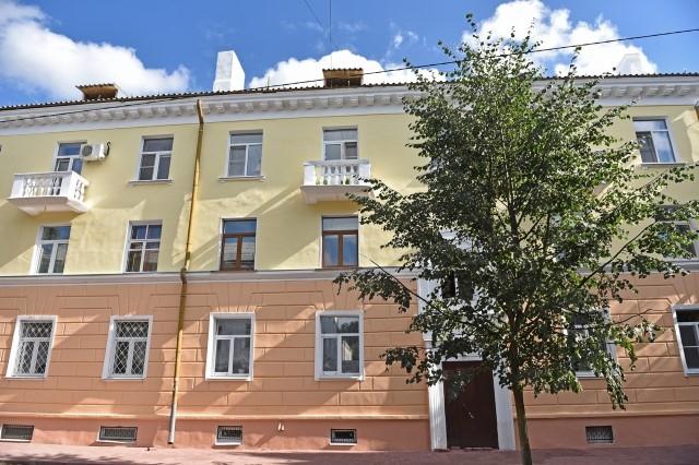 В Ярославле дома в центре города покрасят в тон тротуарной плитки