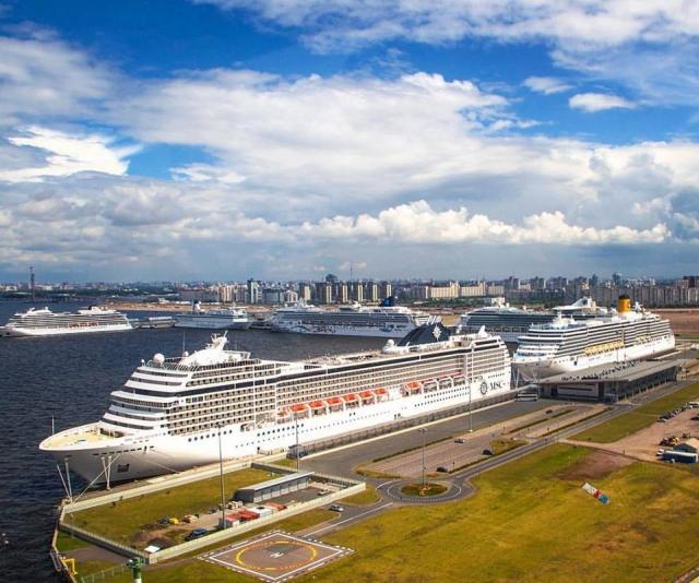 Пассажирский порт, Санкт-Петербург
