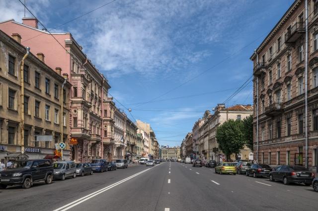 Улица Марата в Санкт-Петербурге