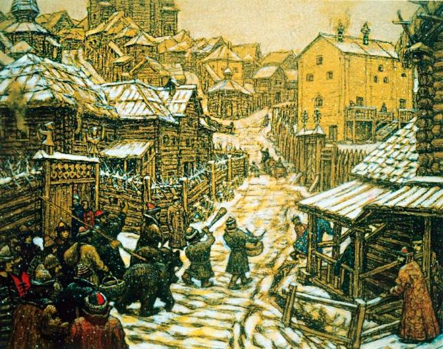 Медведев решил застроить Россию деревянными домами