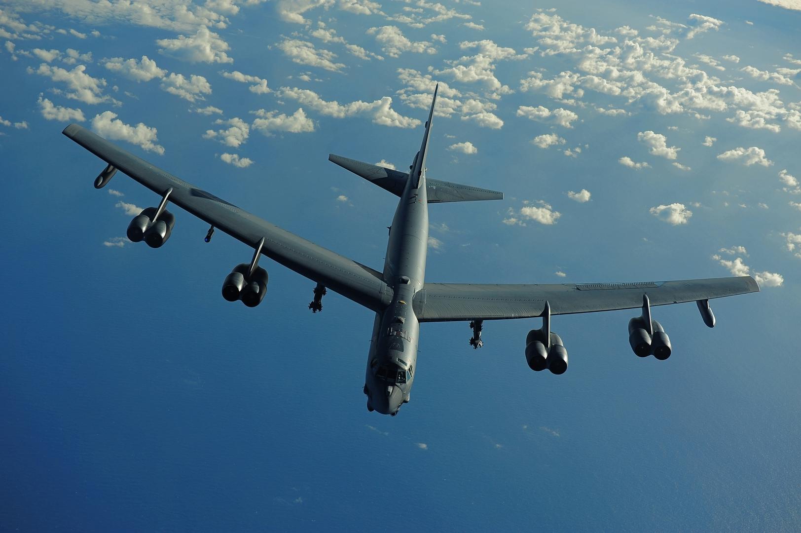 Стратегический бомбардировщик ВВС США B-52