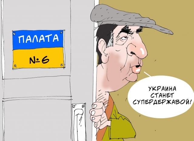 «Блистательные умственные способности» Саакашвили помогли Вовану и Лексусу
