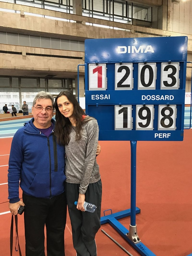 Российская прыгунья Мария Ласицкене взяла «золото» на ЧМ в Лондоне