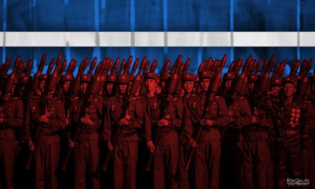 Северокорейские солдаты