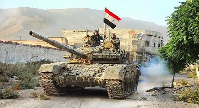 Армия Сирии взяла под контроль город Эс-Сухне
