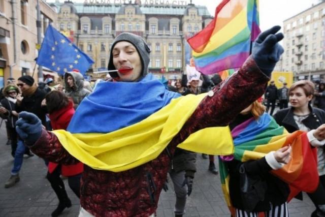 Марш ЛГБТ прошел в Одессе