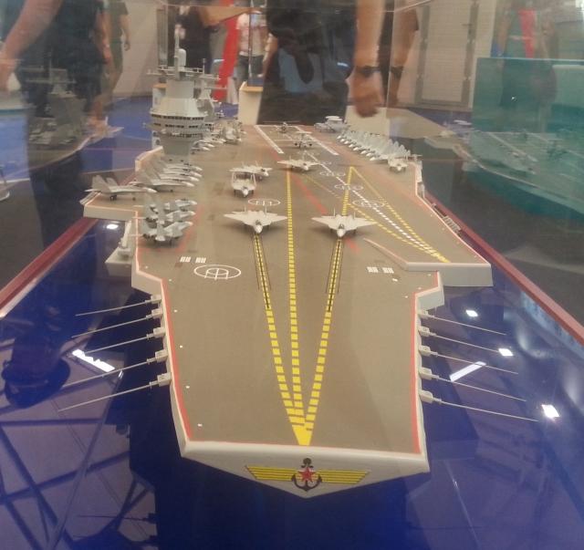 Суперавианосец «Шторм» и ВМФ РФ: реальность против планов
