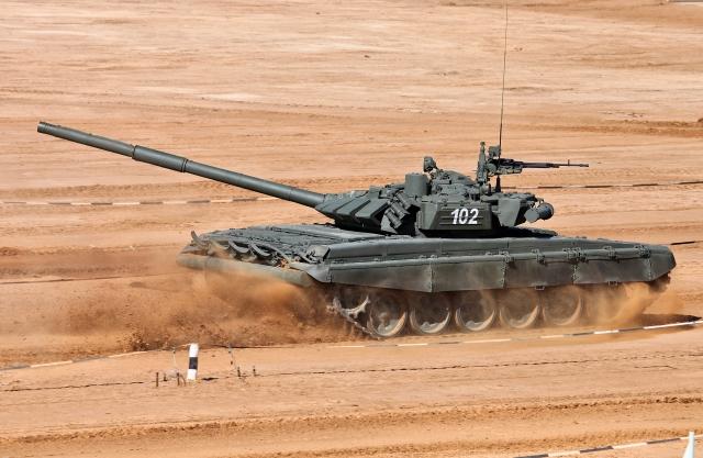 Сербия безвозмездно получит 30 российских танков Т-72Б3