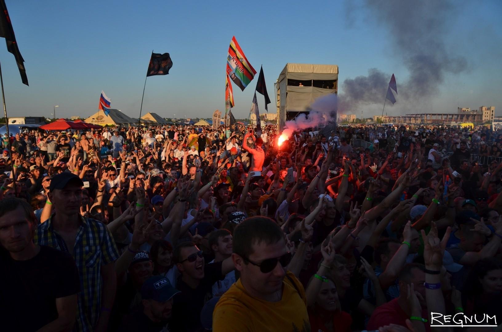 Публика на фестивале