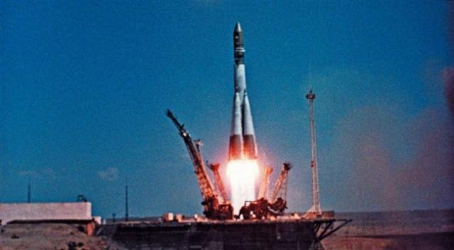 Первый полет человека в космос. 12 апреля 1961 года