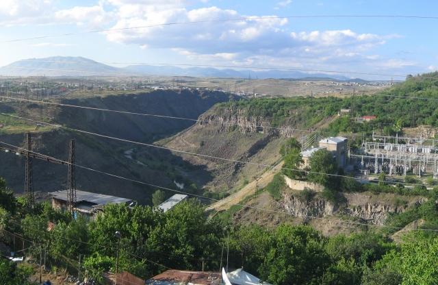 Канакерская ГЭС в Ереване
