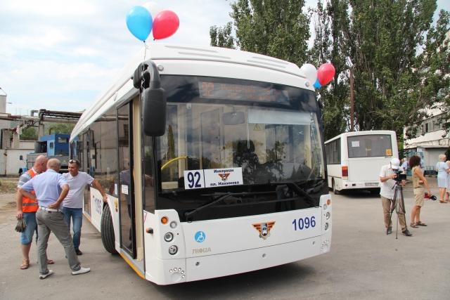 Севастополь поставил рекорд по протяженности троллейбусного маршрута