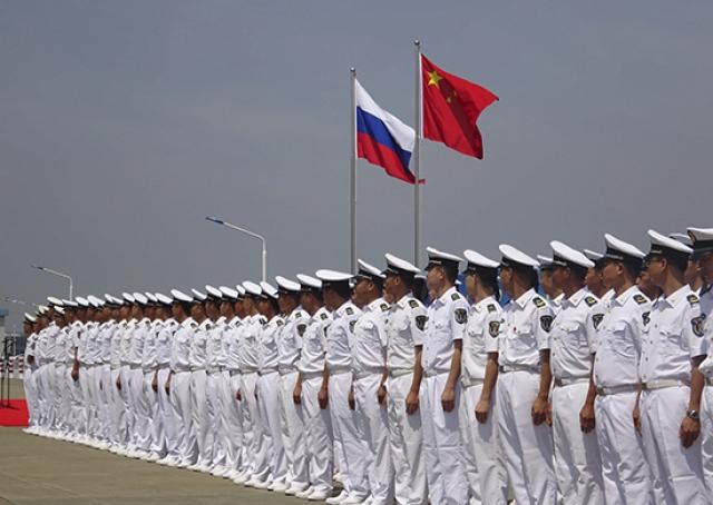 Совместные учения России и Китая в Южно-Китайском море
