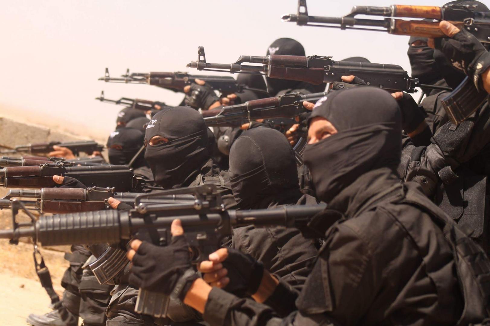 Бойцы курдского спецназа