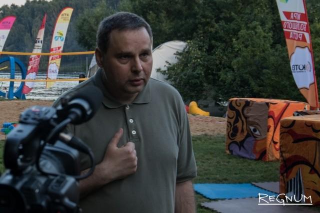 Сергей Менжерицкий, член рабочей группы по парку «Москворецкий» и Серебряному бору при департаменте природопользования г. Москвы