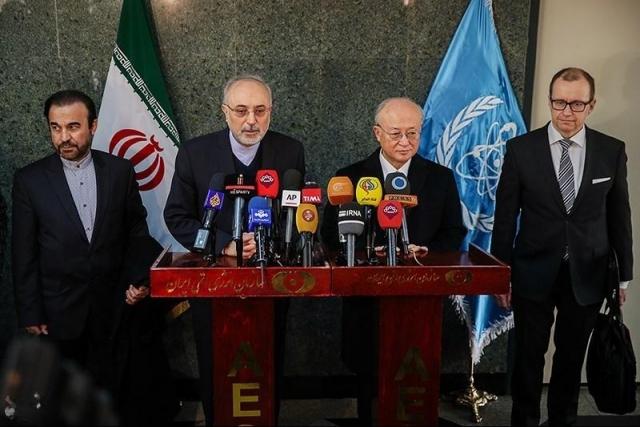 Представитель МАГАТЭ Юкия Амано посетил Тегеран для встречи с высокими лицами из Ирана для внедрения JCPOA. 2016