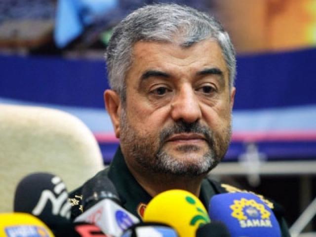 Командующий Корпусом стражей исламской революции, бригадный генерал Мохаммед Али Джафари