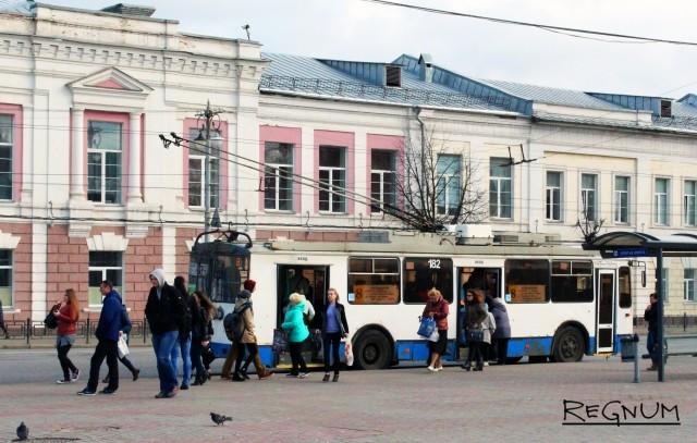Троллейбус во Владимире