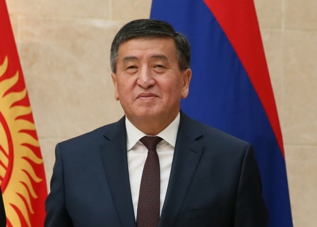 Премьер-министр Киргизии Сооронбай Шарипович Жээнбеков