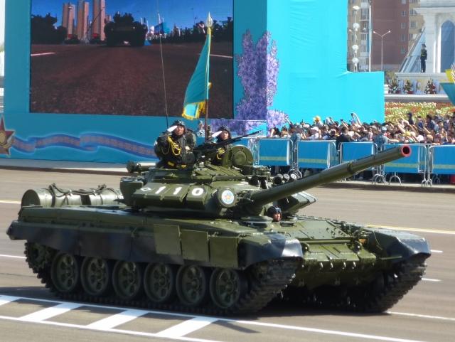 Т-72БА Вооружённых сил Казахстана