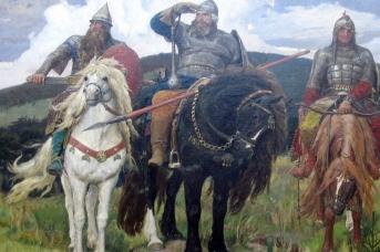 Виктор Васнецов. Три богатыря. 1898