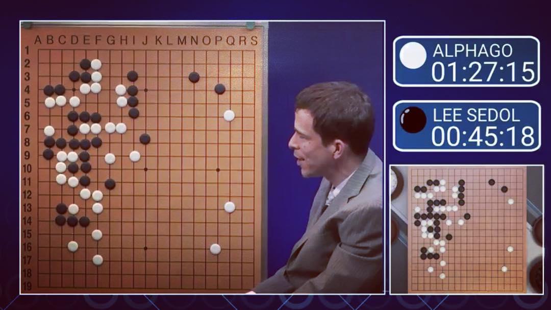 Матч в игру Го между программой АльфаГо и Ли Седола