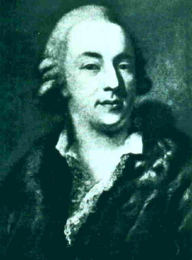 Портрет Казановы, написанный венецианским живописцем Алессандро Лонги