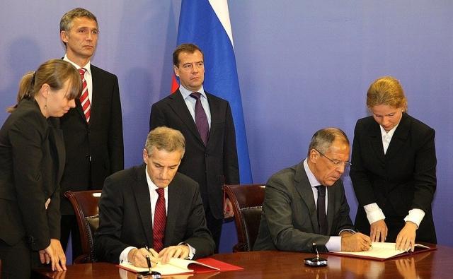 Подписание договора. 2010