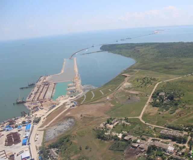 Мост в керченском проливе схема