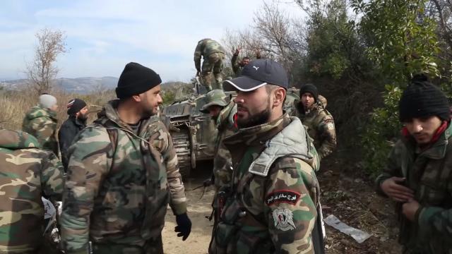 Морской десант Сирийской Арабской Республики