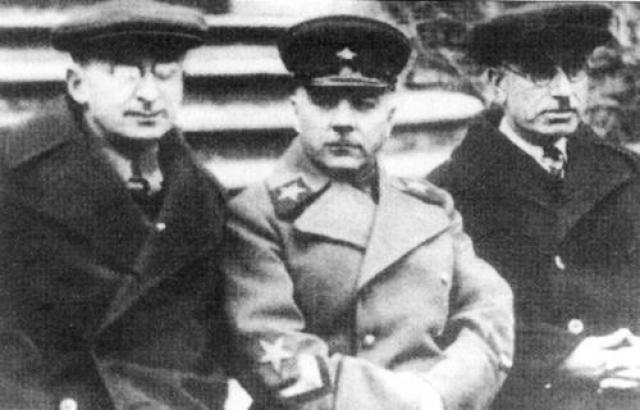 Берия, Ворошилов и Багиров