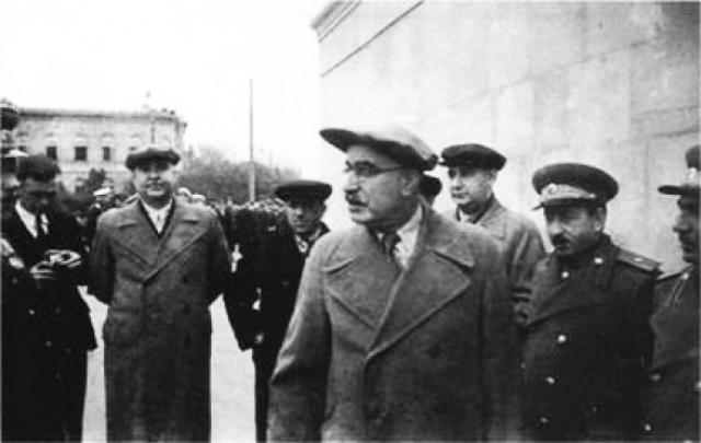 Последний снимок Багирова – до освобождения от должности, дальнейшего суда и расстрела остались считаные недели