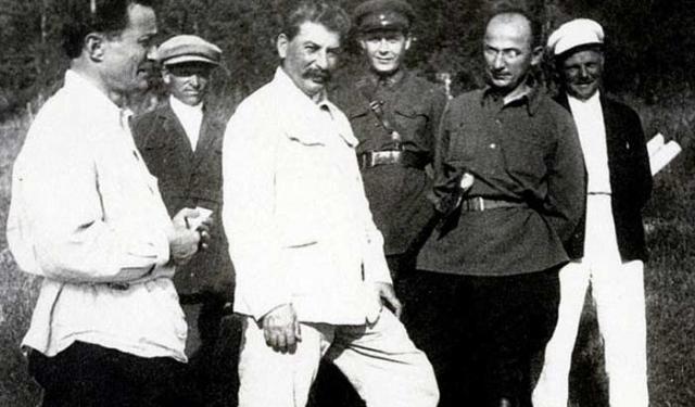 Лаврентий Берия и Иосиф Сталин