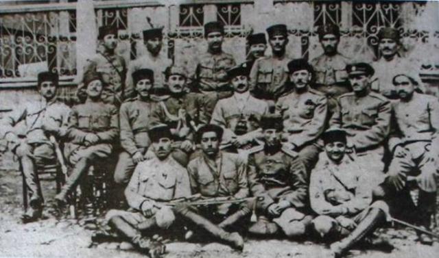 Армия Азербайджанской Демократической Республики 1918-1920 гг