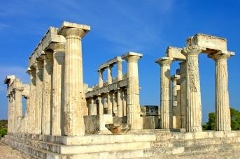 Храм Афайи. Эгина, Греция