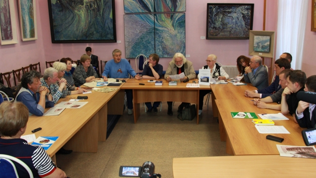 Круглый стол в Дягилевской гимназии