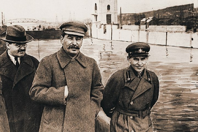 Молотов, Сталин и Ежов
