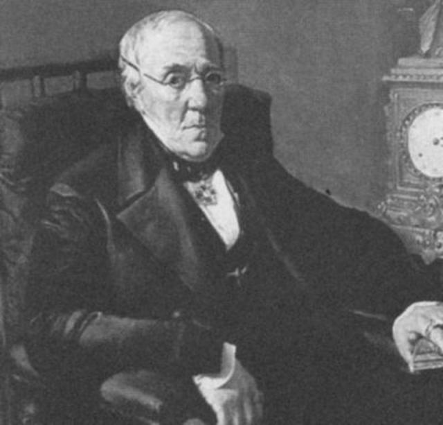 Константин Петрович Толстой, отец поэта. Середина XIX