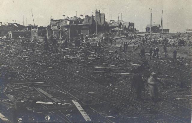 Теракт белочехов на станции Байкал