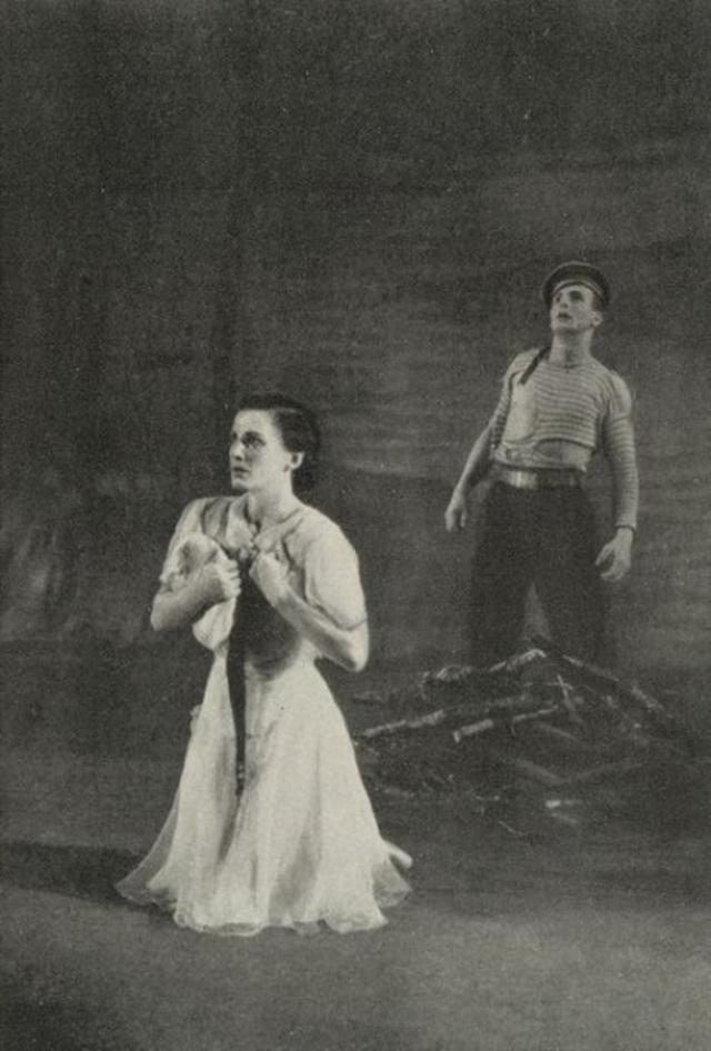 Cцена из балета А. Крейна «Татьяна». 1943