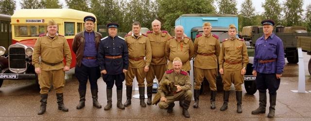 В Ярославле открылась выставка старинной военной техники
