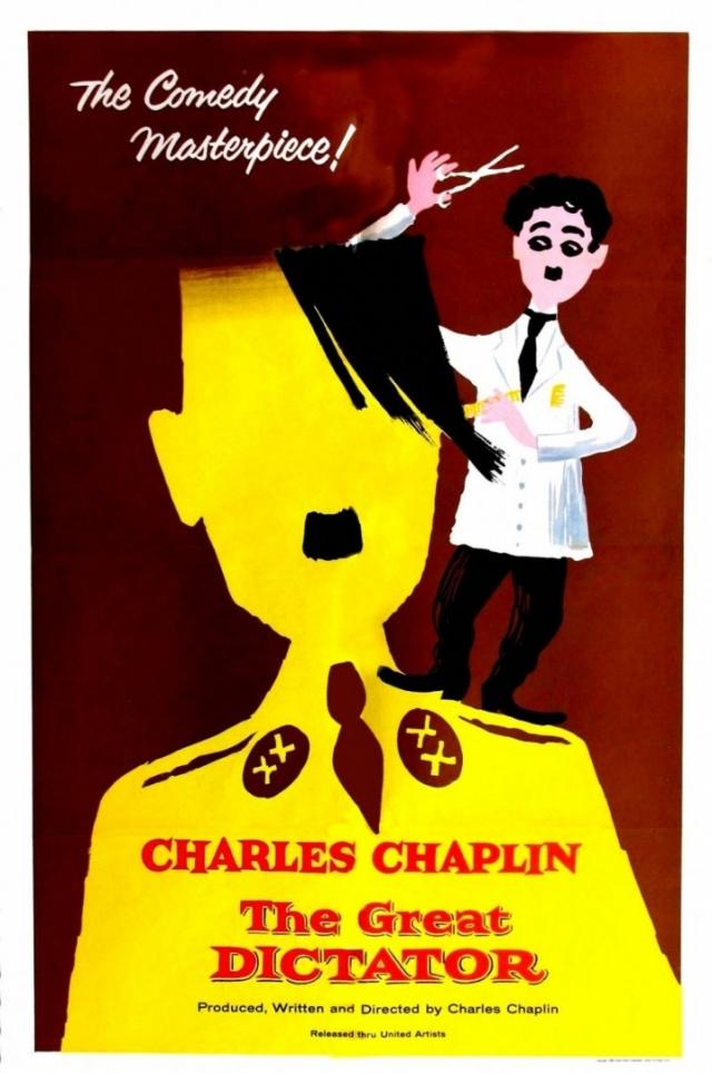 """Постер фильма """"Великий диктатор"""""""