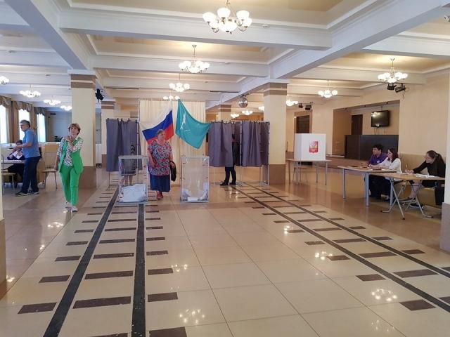 Избирательный участок №302 Южно-Сахалинск